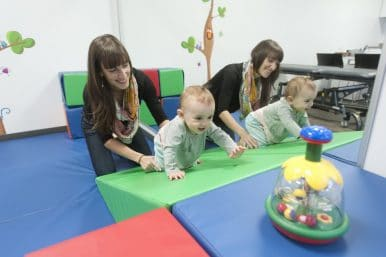 Traitement physiothérapie pédiatrique