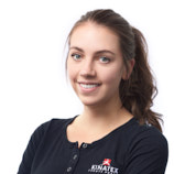 Elisabeth Laurin, réceptionniste et étudiante en physiothérapie