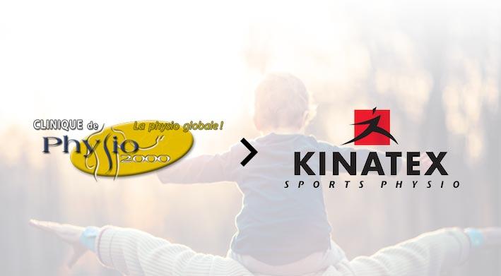 Physio 2000 devient Kinatex Sports Physio Fleury