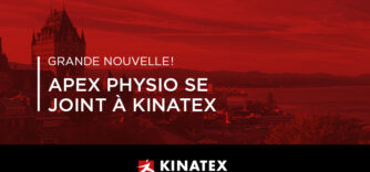 Apex Physio se joint à Kinatex Sports Physio