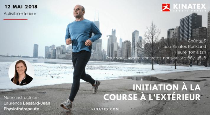 Atelier pratique: initiation à la course à l'extérieur !