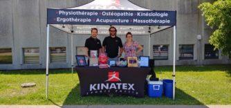Kinatex organisait une levée de fonds pour la fondation Charles-Bruneau