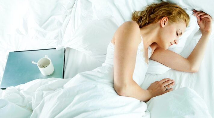 Dormir me fait plus mal qu'un entraînement!