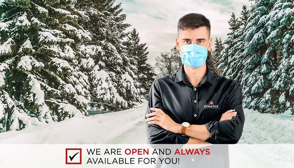 We are open and always available for you!