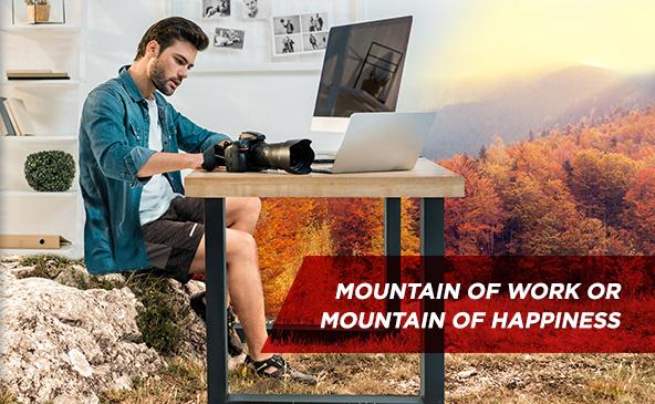 Montagne de travail ou montagne de plaisir...