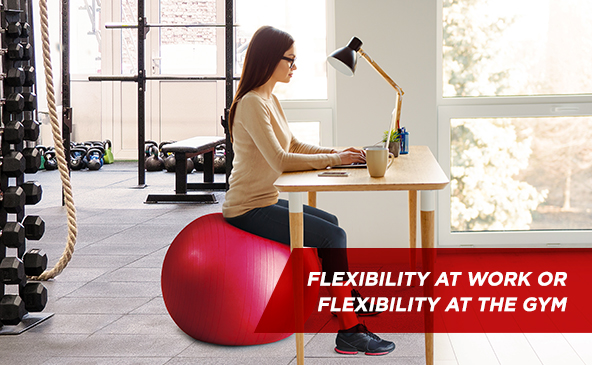 Équilibre au travail ou équilibre au gym...