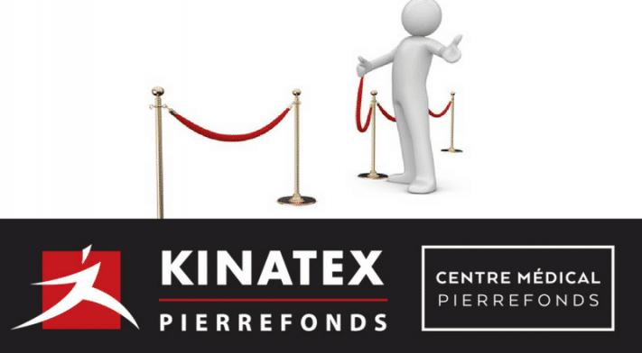 KINATEX EST FIER D'ANNONCER L'OUVERTURE PROCHAINE D'UNE NOUVELLE CLINIQUE À PIERREFONDS!