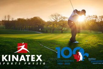 Kinatex Sports Physio partner of Golf Quebec