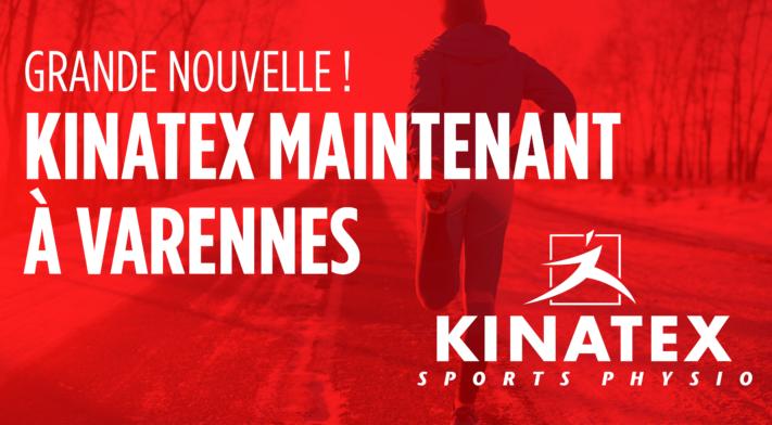 Kinatex Sport Physio maintenant à Varennes