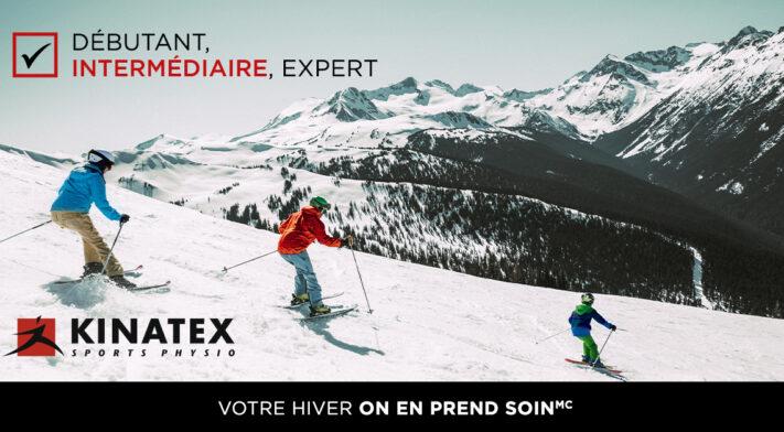 La prévention des blessures en ski alpin – Exercices et conseils