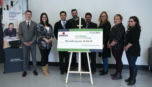 Kinatex Sports Physio Ahuntsic-Cartierville signe une entente de partenariat avec la Fondation du Collège de Bois-de-Boulogne