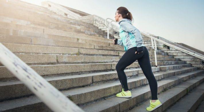 Les escaliers, un moyen facile de bouger !